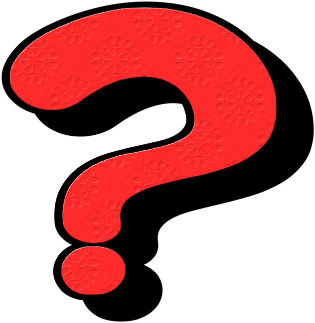 Download Question2 Question Mark Red Transparent Png Image With