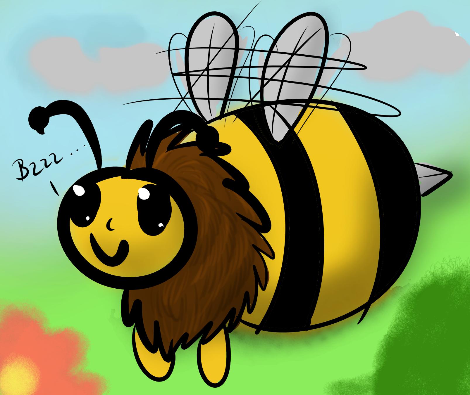 работы картинка прикольная пчела для мобильного это