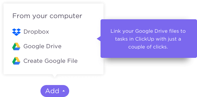 Download Link Your Google Drive Files To Tasks In Clickup