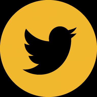 Mizzou - Facebook Twitter Instagram Logo Gold (382x382), Png Download