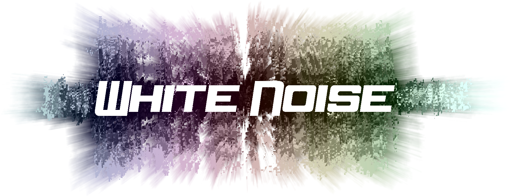 Download White Noise Logo - Graphic Design PNG Image with No