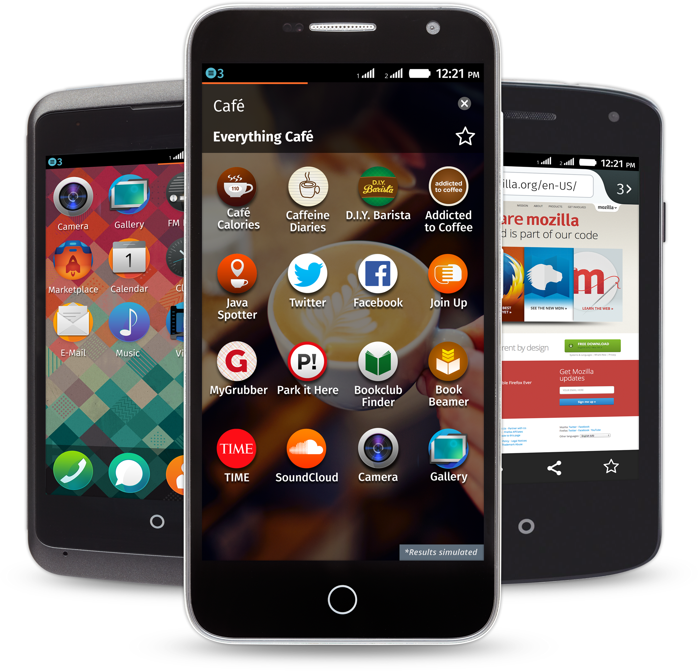 Download Firefox Os Expands To Nearly - Spice Fire One (mi-fx1) PNG