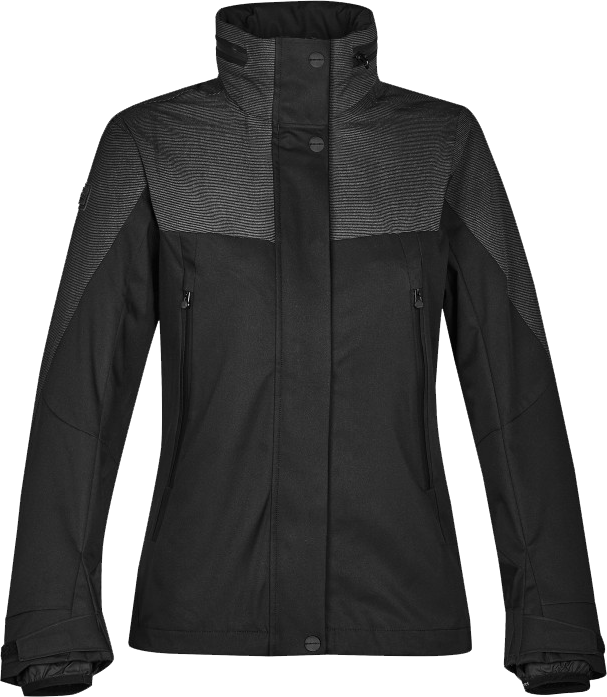 Download Black Winter Jacket For Women Transparent Background Stormtech Jacket Png Image With No Background Pngkey Com