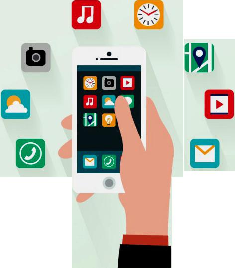 Download Como Vender Celulares Smartphones 1 - Mobile App Vector Png PNG  Image with No Background - PNGkey.com