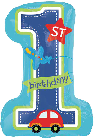 Download 1st Birthday Png Download Image All Aboard First Birthday