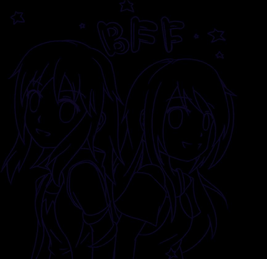 Ruang Belajar Siswa Kelas 6 Anime Drawings Best Friends
