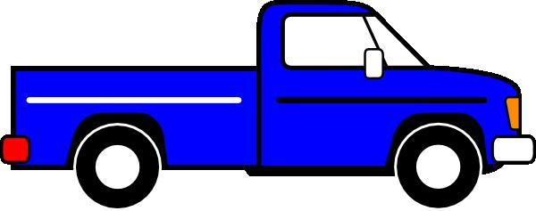 Clipart Stock Clip Art At Clker Com Vector Online - Pick Up Truck Clip Art (600x237), Png Download
