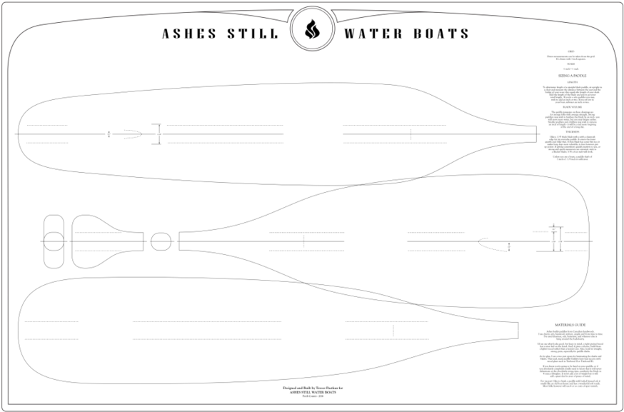 Boat Paddle Template Clipart Canoe
