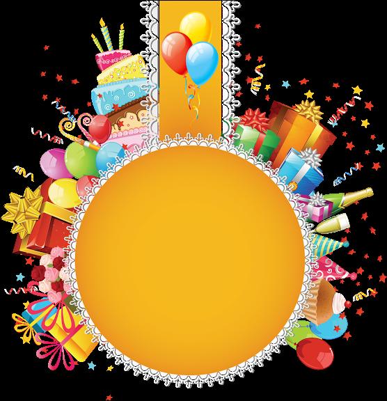 Download Birthday Balloon Designs Png Birthday Invitation Card