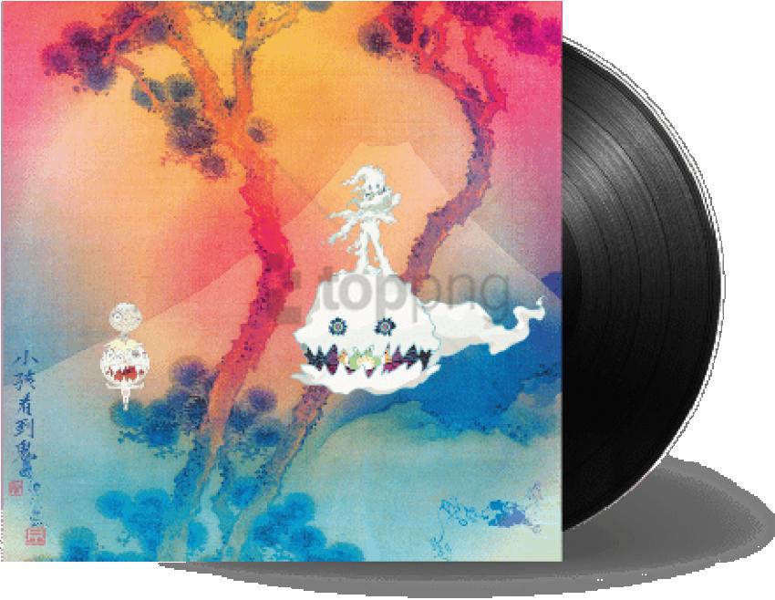Kids See Ghosts Von Kanye West & Kid Cudi - Kids See Ghosts Vinyl (480x480), Png Download