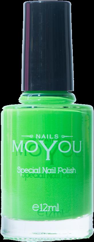 Nail Polish Png - Moyou Grey Nail Lacquer (1000x1000), Png Download
