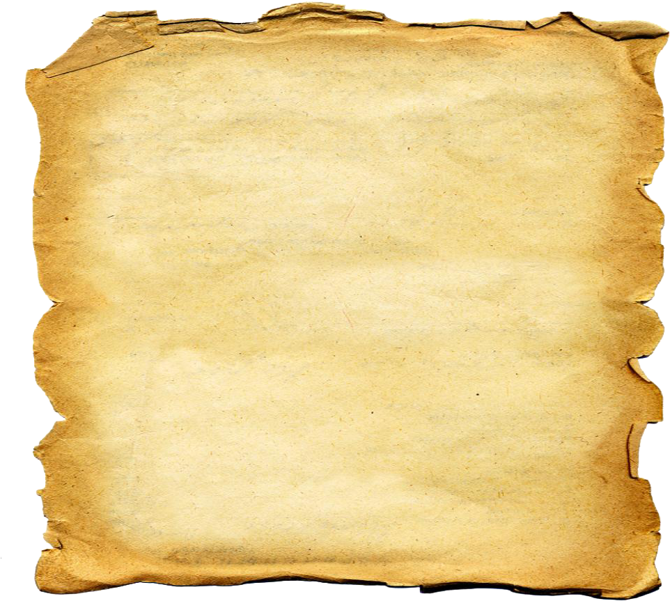 Download Old Paper - First Sheet Of Paper PNG Image with No
