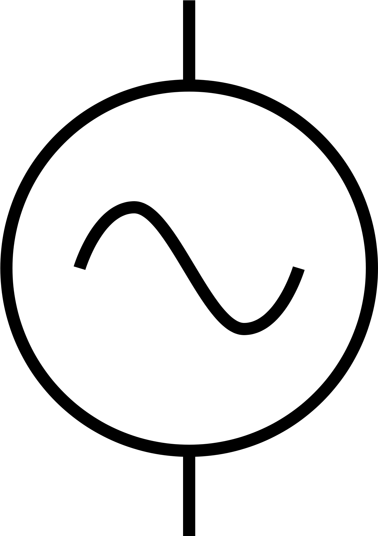 ac supply symbol