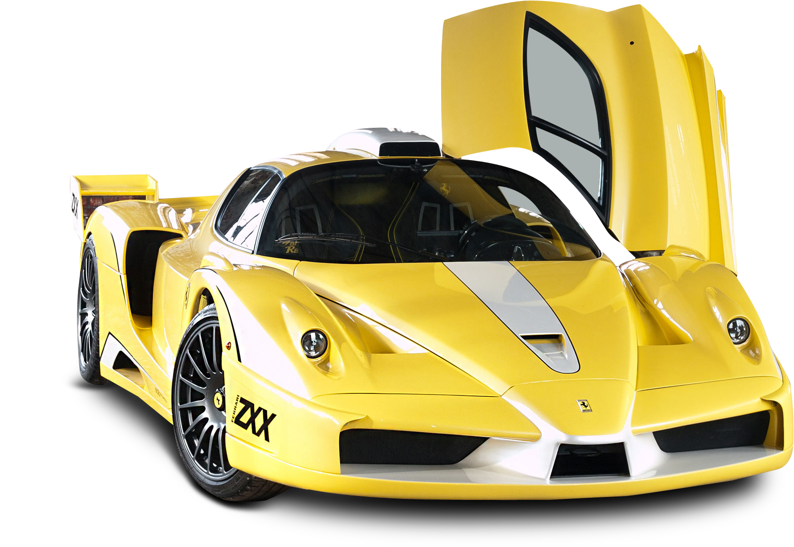 Download Yellow Ferrari Enzo Edo Car Png Image Maserati Mc12 In Yellow Png Image With No Background Pngkey Com