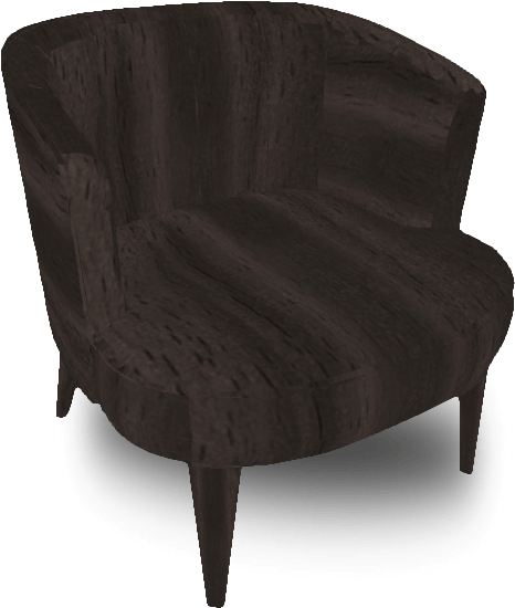 Download Brown Single Seater Sofa Studio Couch Png Image With No