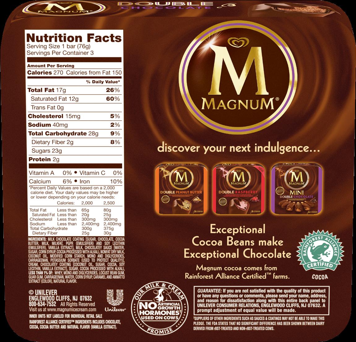 Bar Nutrition Information PNG Image