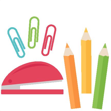 School Stuff Png - School Supplies Clipart Png (432x432), Png Download