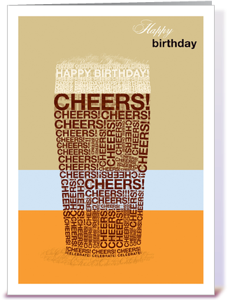 Card Gnome Introduces Search Functionality To Online - Happy Birthday Card Man (435x429), Png Download