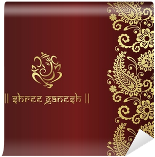 Download Ganesh Traditional Hindu Wedding Card Design India Indian Design Png Image With No Background Pngkey Com