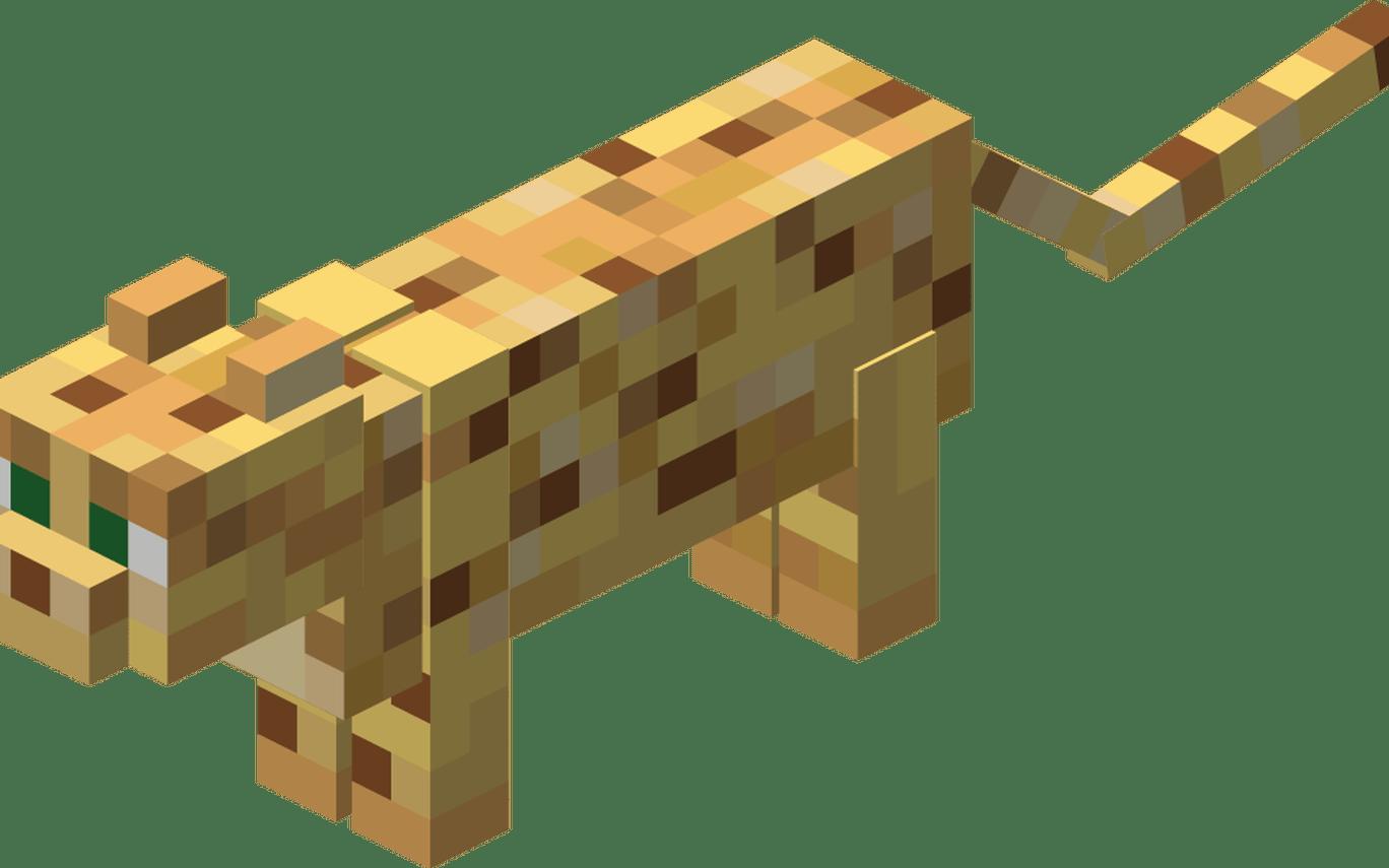Картинки кошка из майнкрафта
