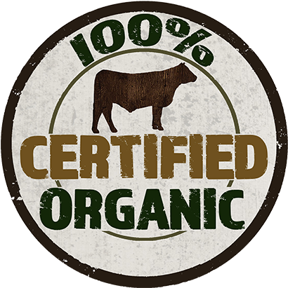 Certified Organic Is The Most Rigorously Inspected - Organic Beef (500x500), Png Download