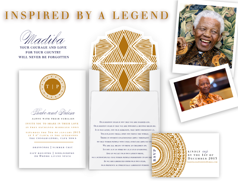Download Afrocentric Wedding Invitations Magnificent African South