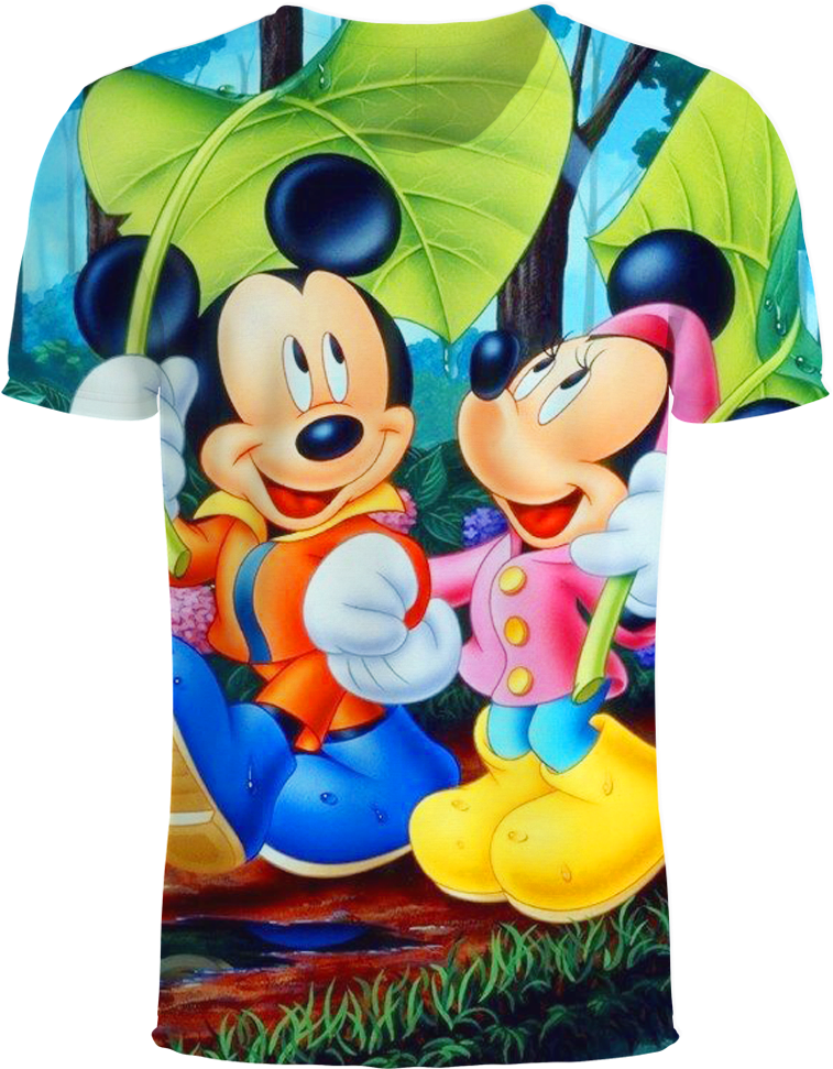 Download Anime Mickey Minnie Mouse 3d T Shirt Disney Wallpapers