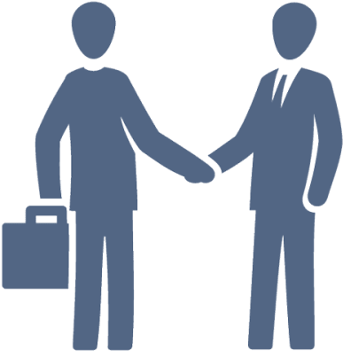 Download Buyer Consultation - People Shake Hand Icon PNG Image with No Background - PNGkey.com