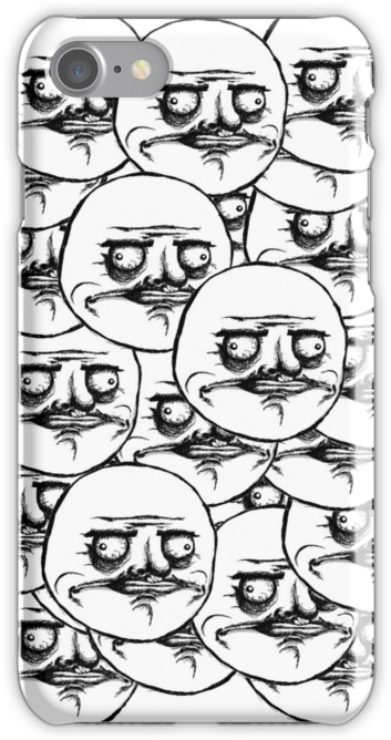 """me Gusta Troll Face Meme"" Iphone Cases & Skins - Me Gusta Meme (500x667), Png Download"