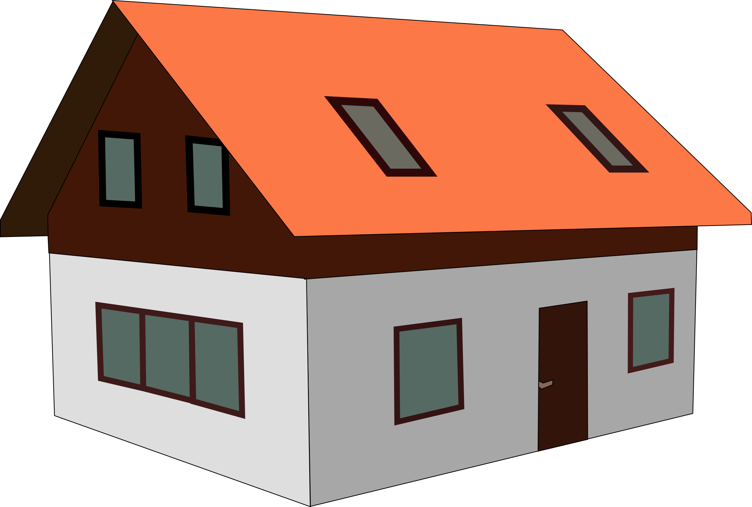 Free Home House Cliparts, Download Free Clip Art, Free Clip Art on Clipart  Library