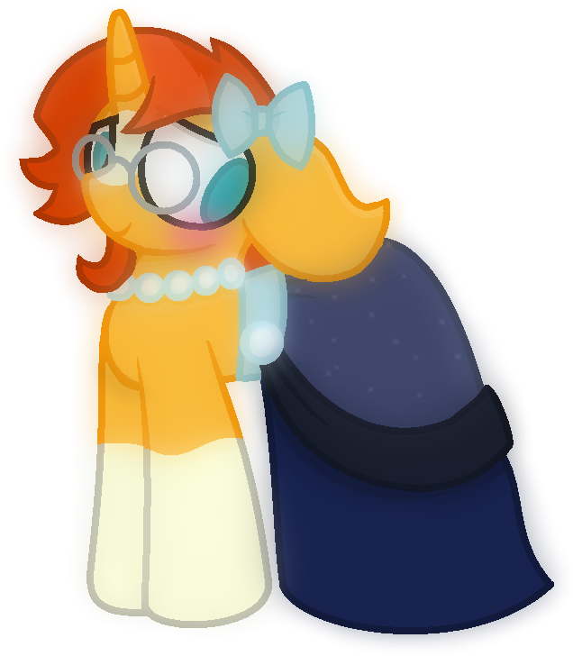 Download Thefanficfanpony Blushing Bow Clothes Crossdressing Cartoon Png Image With No Background Pngkey Com