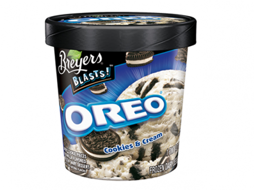 Cookies And Cream Ice Cream Breyers (500x500), Png Download