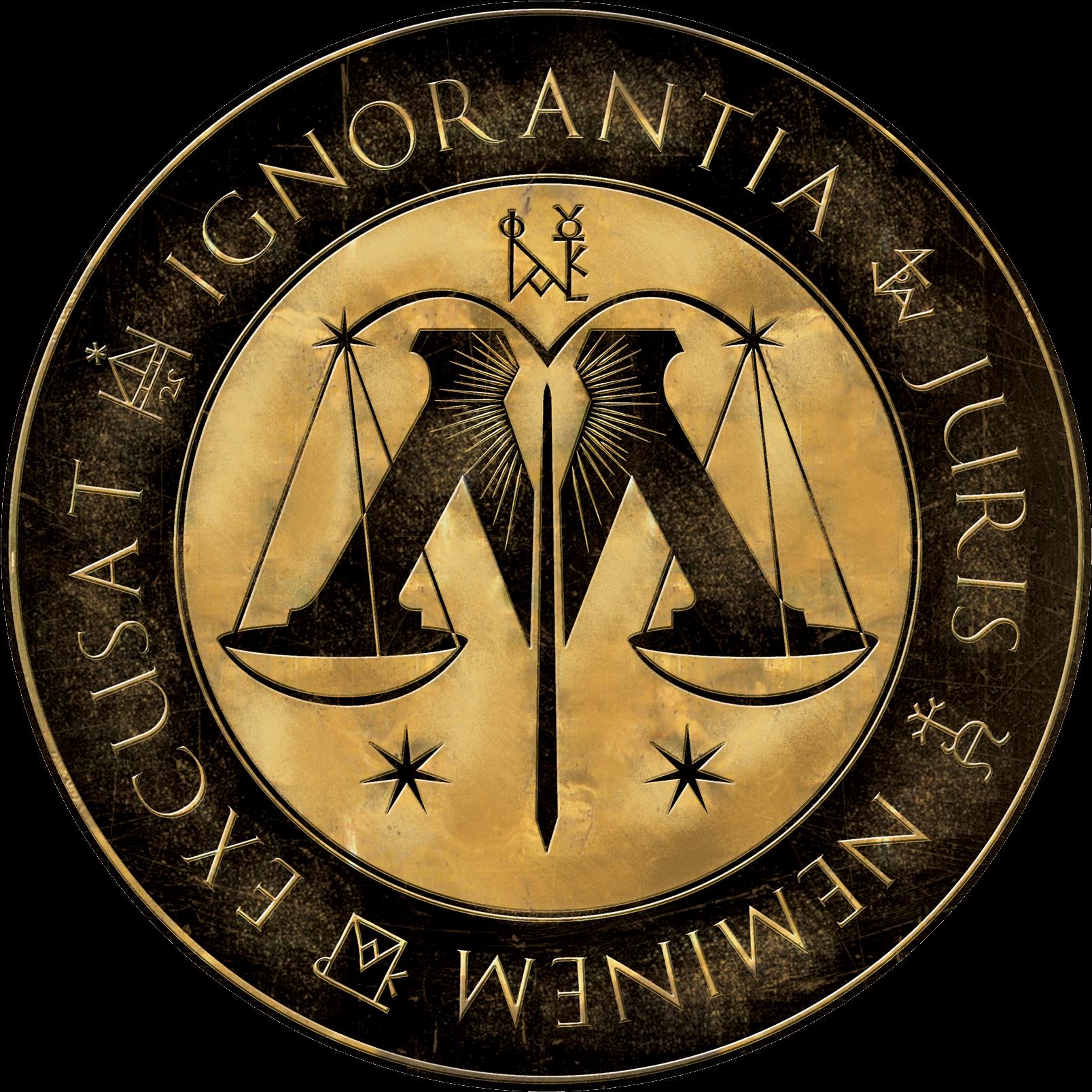 03 Min Logo Degd - Harry Potter Ministry Of Magic Logo (480x479), Png Download