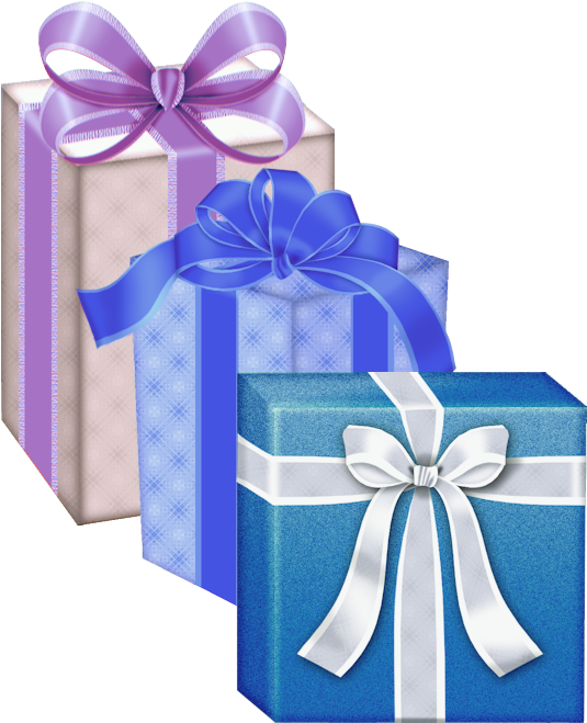 Happy Birthday Gifts Clip Art