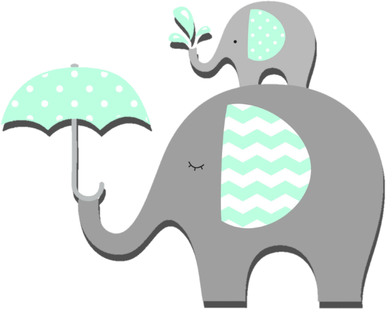 Download Report Abuse Baby Shower Elephant Clipart Png Image With