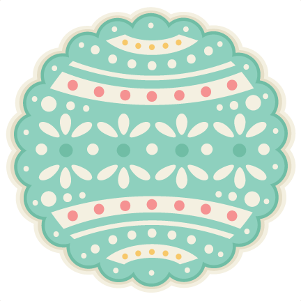 Easter Layered Background Scrapbook Cuts Svg Cutting - Miss Kate Cuttables Easter Layered Backgrounds (432x432), Png Download