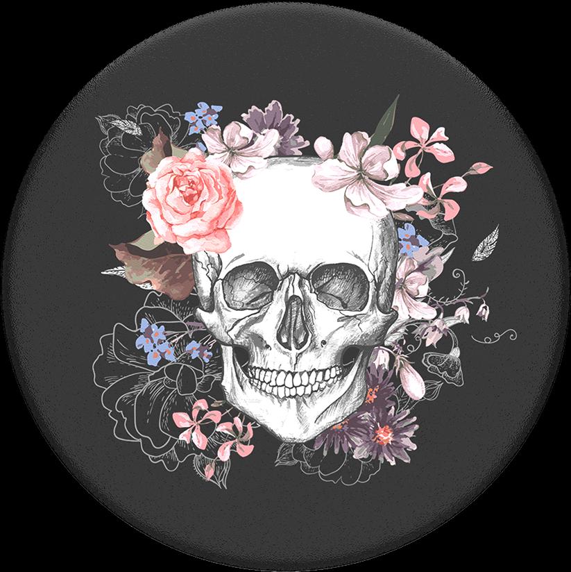 череп из цветов постер стрелок ещё два