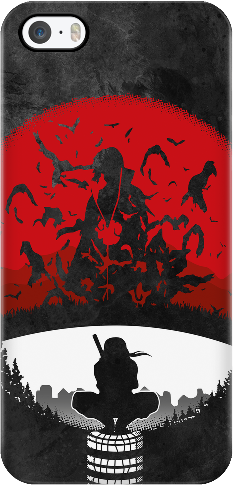 Download Itachi Red Sun Itachi Phone Case Png Image With No Background Pngkey Com