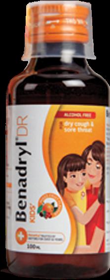 Download Benadryl® Dr Kids - Benadryl For Kids In India PNG