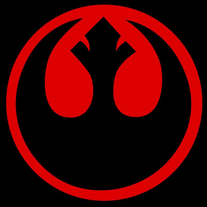 Download Transparent Star Wars Rebel Alliance Symbol Stickers Star Wars Rebel Logo Png Png Image With No Background Pngkey Com