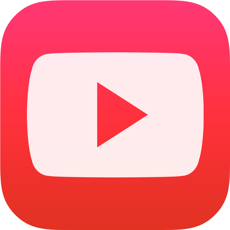 Youtube Icon Png Image - Ios Youtube Icon Png (1024x1024), Png Download
