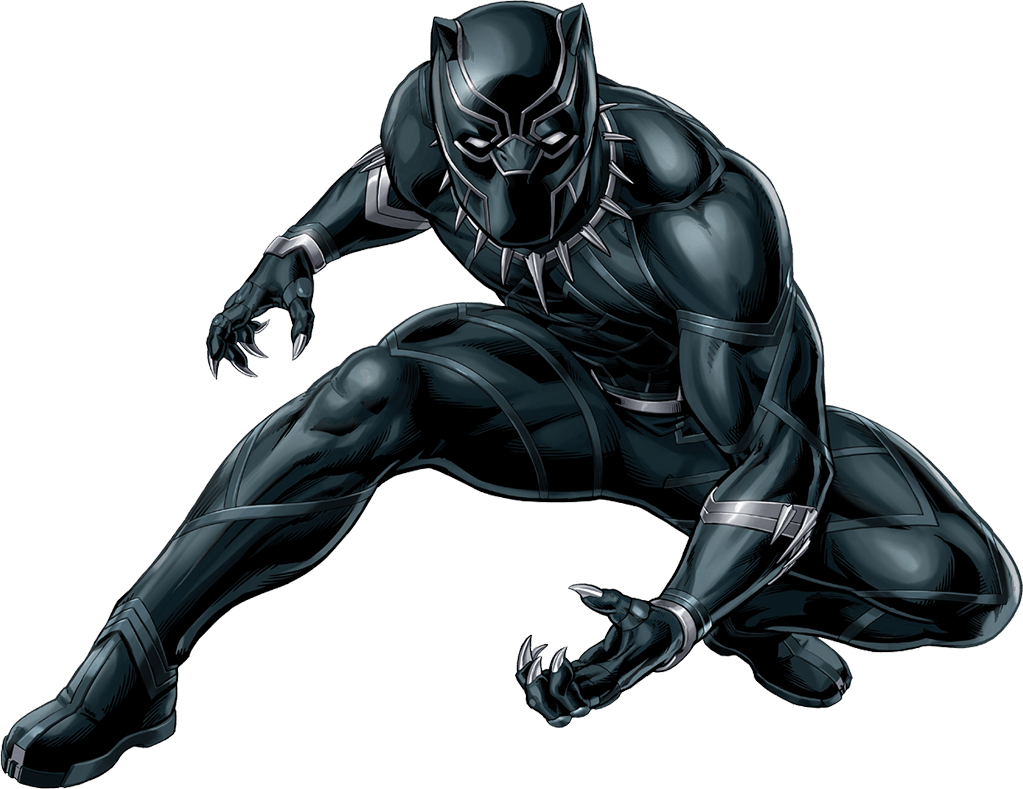 Xmen Drawing Black Panther Clipart Transparent Download ...