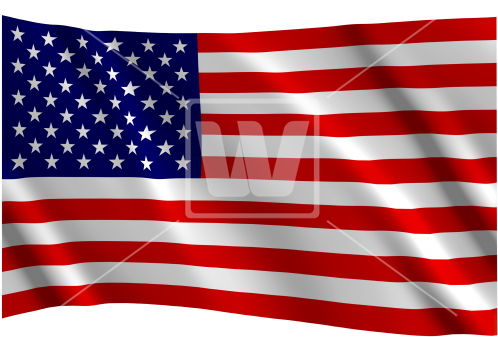Usa American Flag - Annin Flag Us 12 X 18 Cotton (550x357), Png Download
