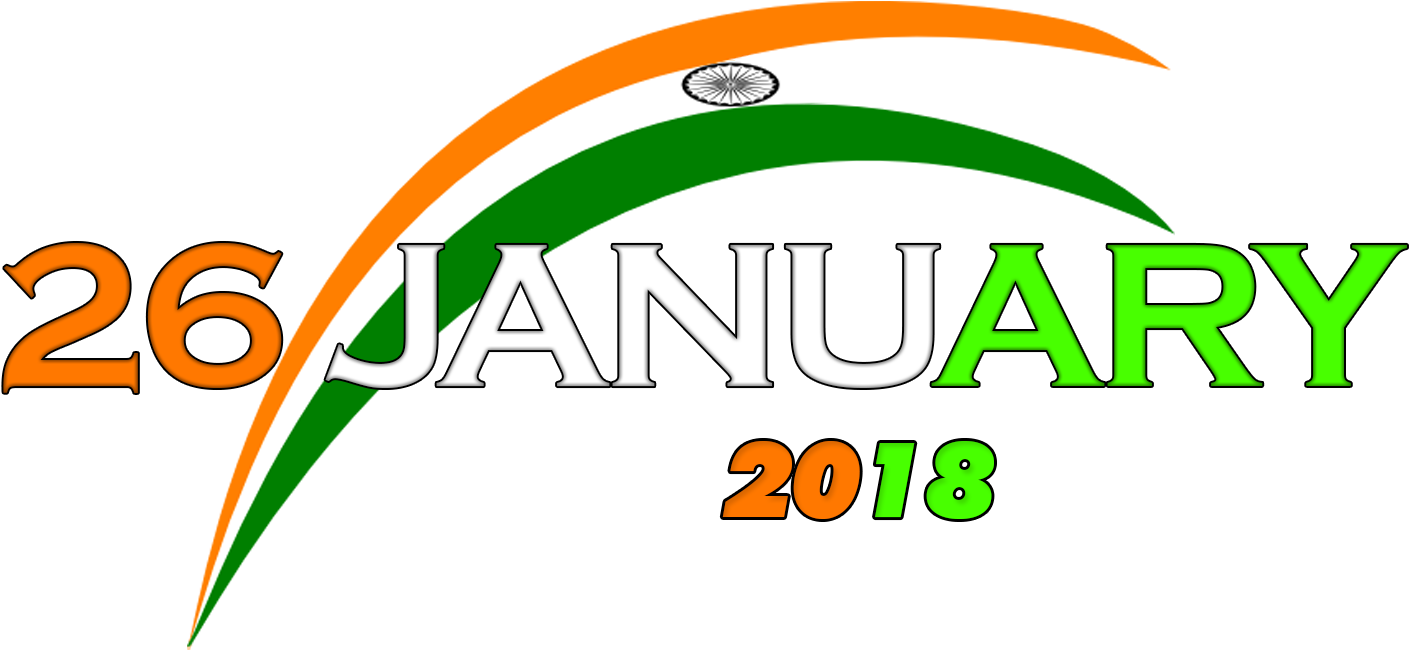 26 january image hd png download republic day  editing png -  january logo png