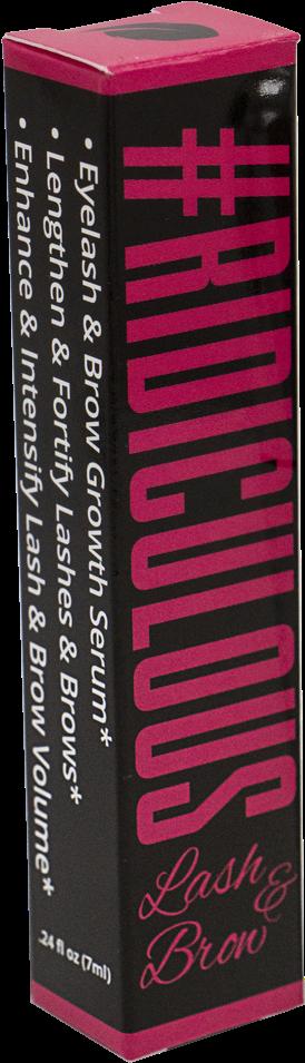 Ridiculous Lash & Brow - Eyelash (1000x1000), Png Download