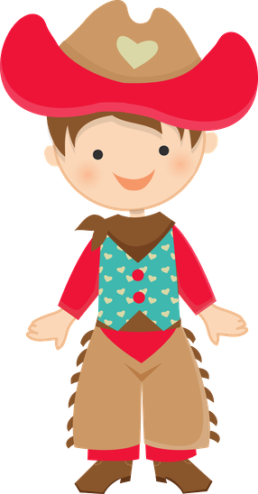 Download Cowboy E Cowgirl Menino Festa Junina Desenho Png Image