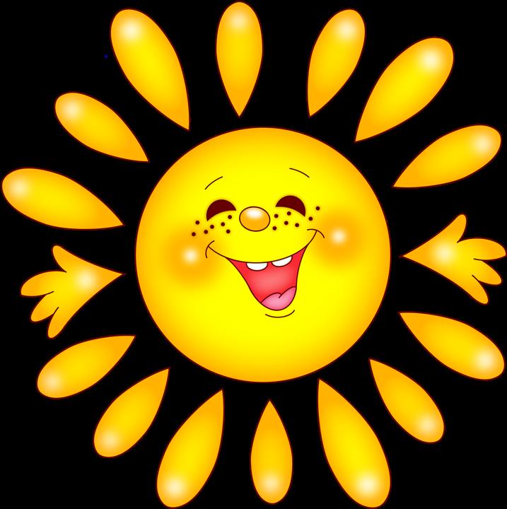 Рисунки солнышка в открытках