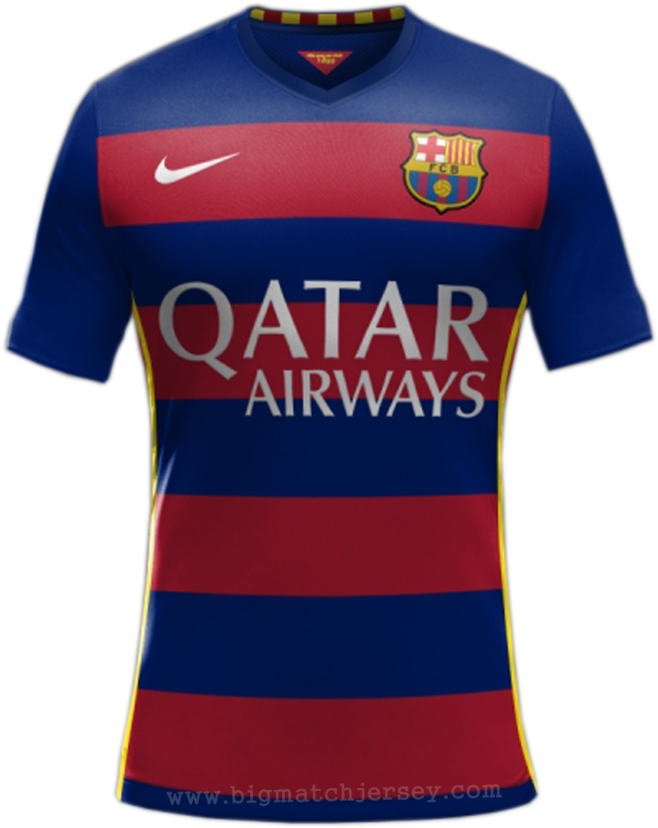 0faef3442c69a Download Fc Barcelona Uniforme - Baju Fc Barcelona 2016 PNG Image ...