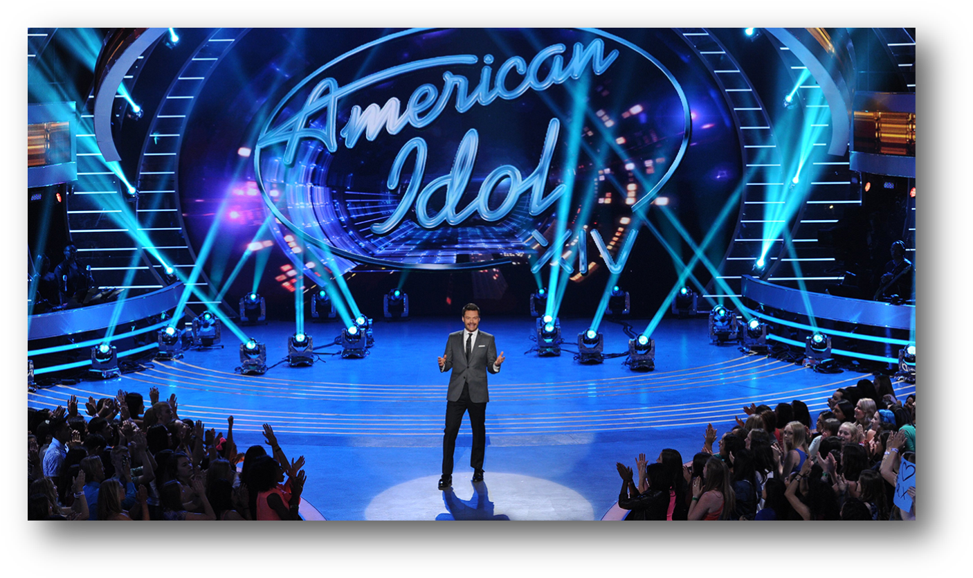 The First Show Of Its Kind, American Idol Has Become - Tv Show American Idol (1421x850), Png Download