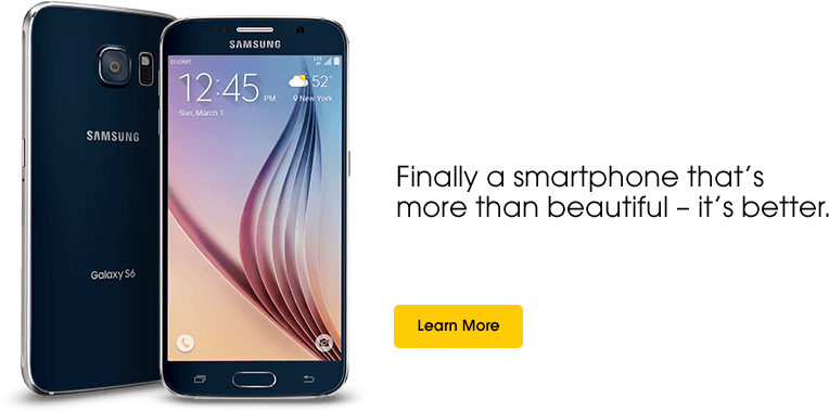 Download Samsung Galaxy S6 S 6 Cricket Wireless Cell Phone